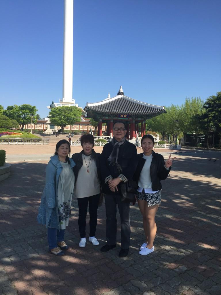 韓国釜山/釜山タワー/東洋不動産本社宮代店賃貸部
